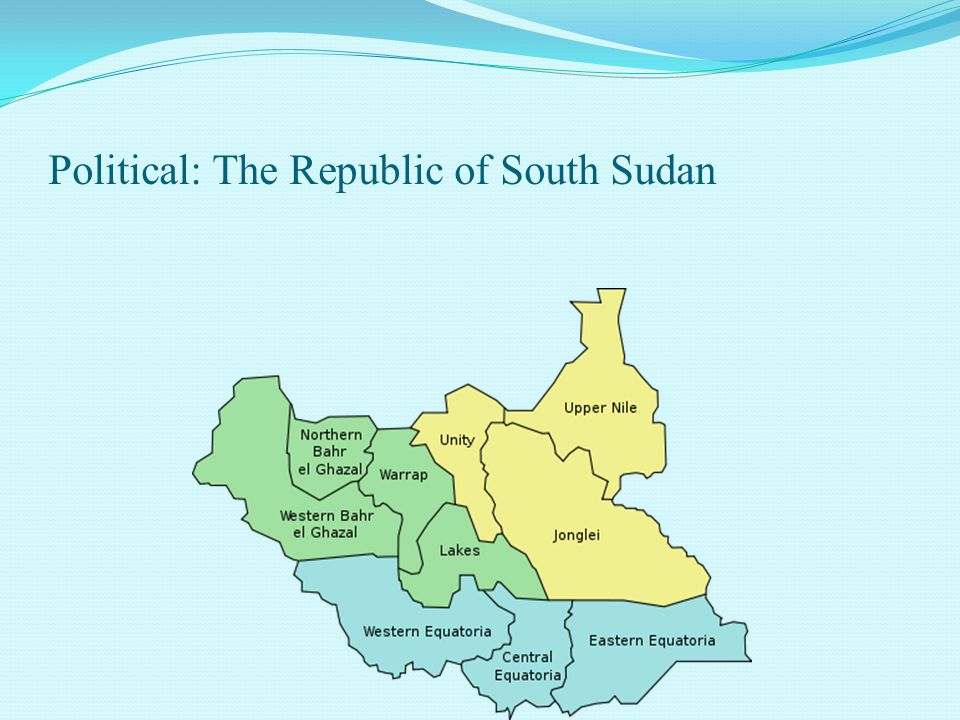 Political: The Republic of South Sudan