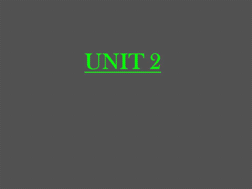 UNIT 2