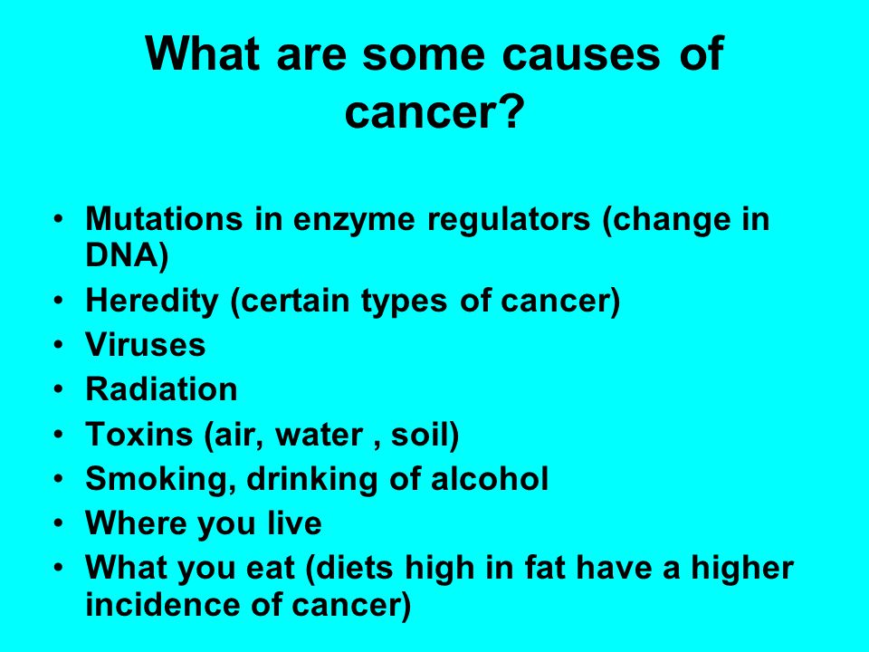 Can you prevent cancer.