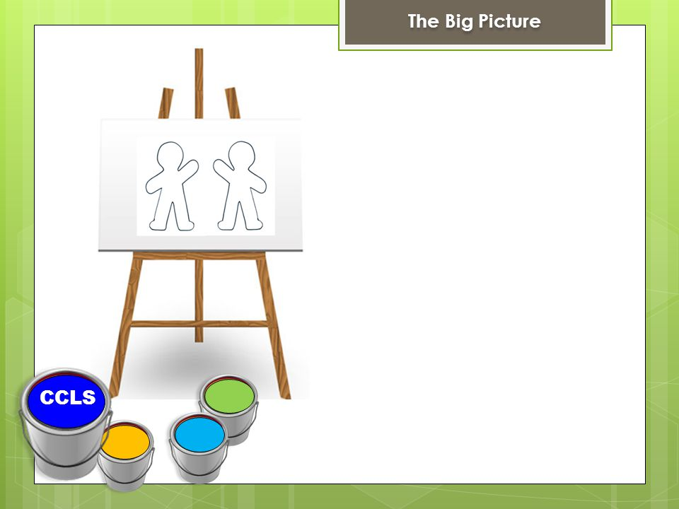CCLS The Big Picture
