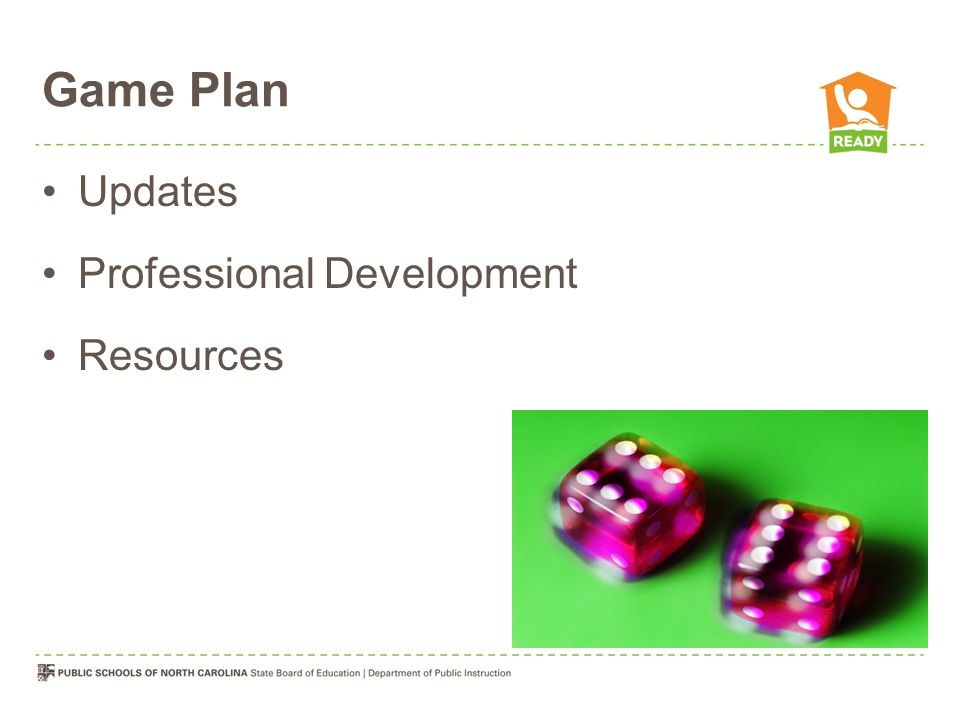 Game Plan Updates Professional Development Resources
