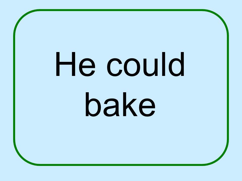 Mr. Putter had no cookbok.