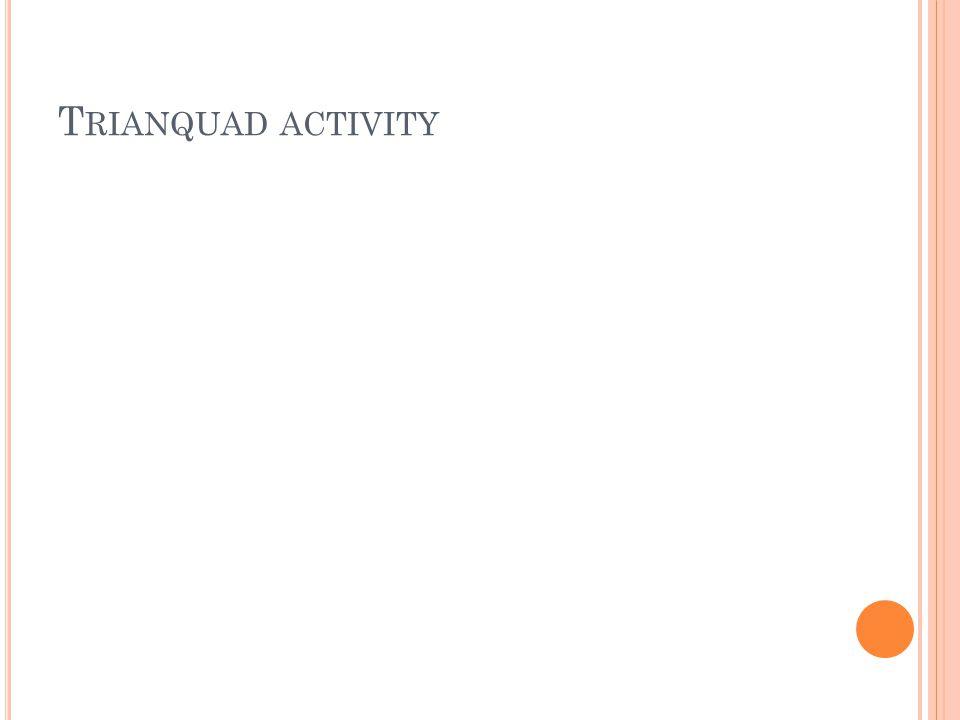 T RIANQUAD ACTIVITY