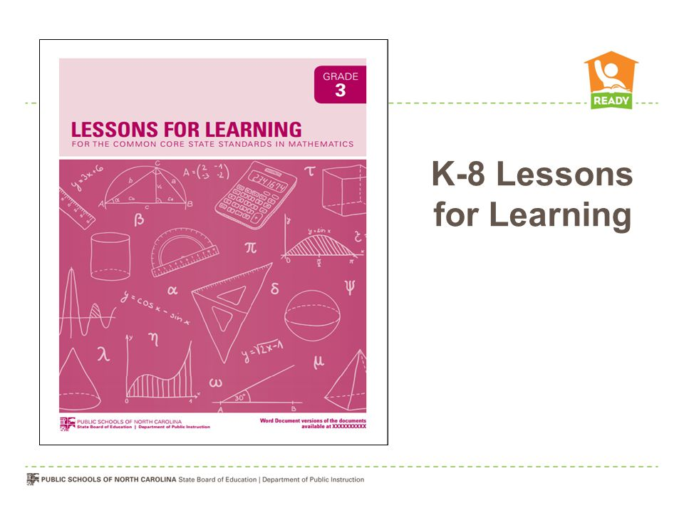 K-8 Lessons for Learning