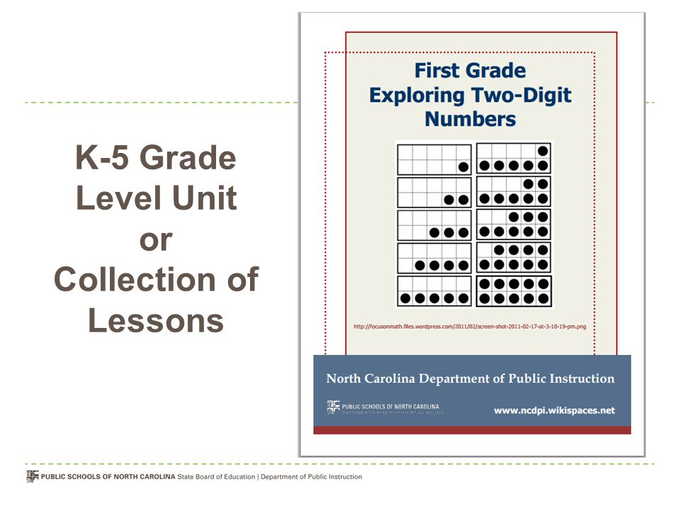 K-5 Grade Level Unit or Collection of Lessons