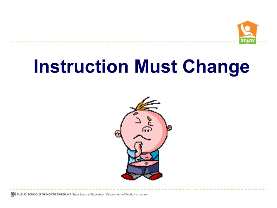 Instruction Must Change