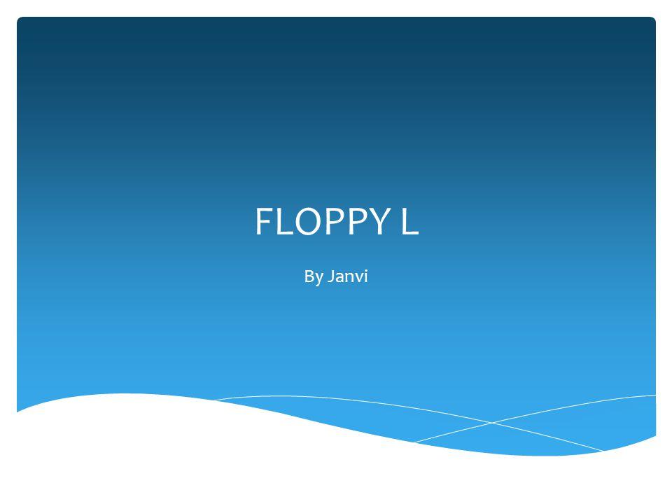 FLOPPY L By Janvi