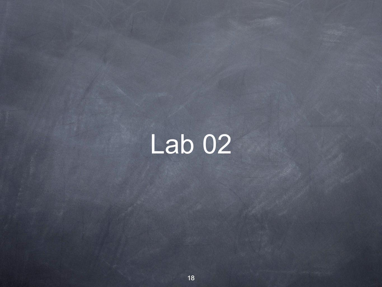 18 Lab 02