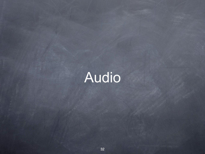 32 Audio