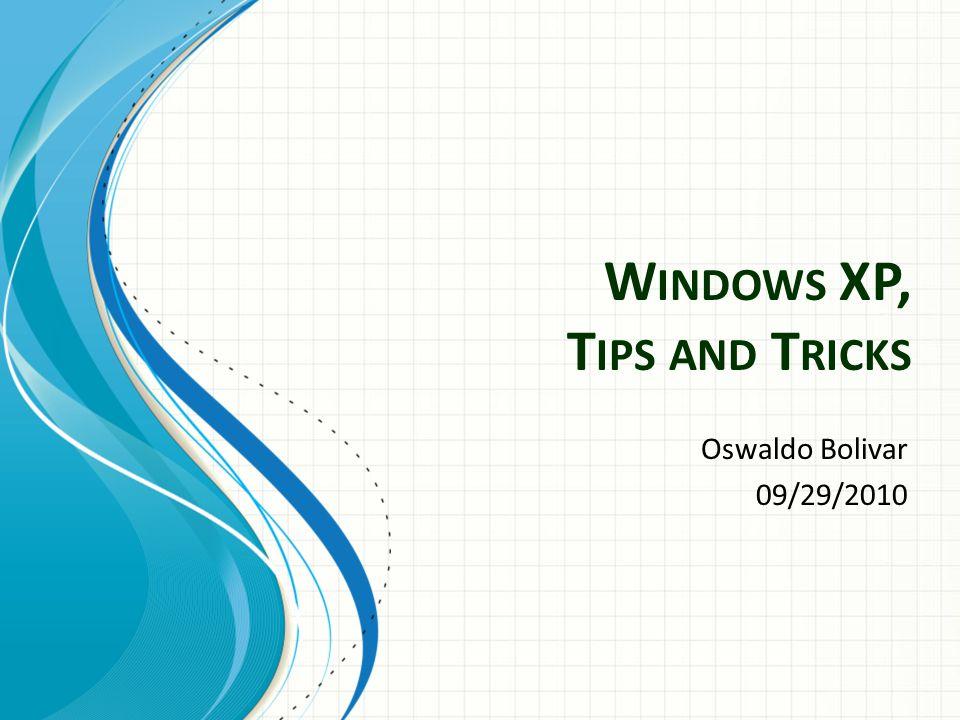 Useful key shortcuts available Windows key + D - shows the desktop.