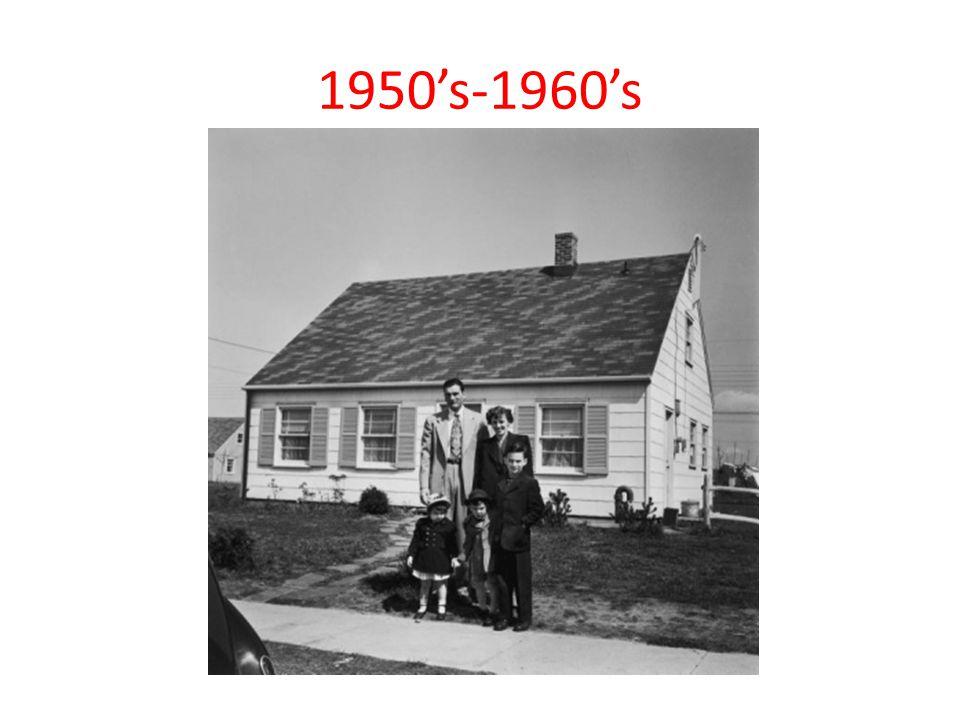 1950's-1960's