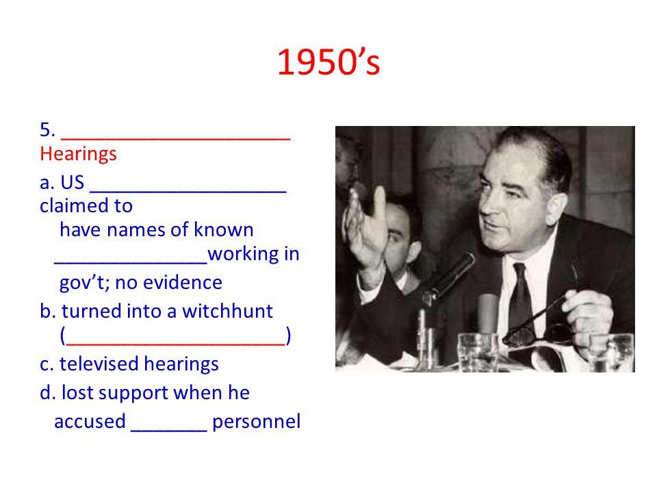 5. _____________________ Hearings a.