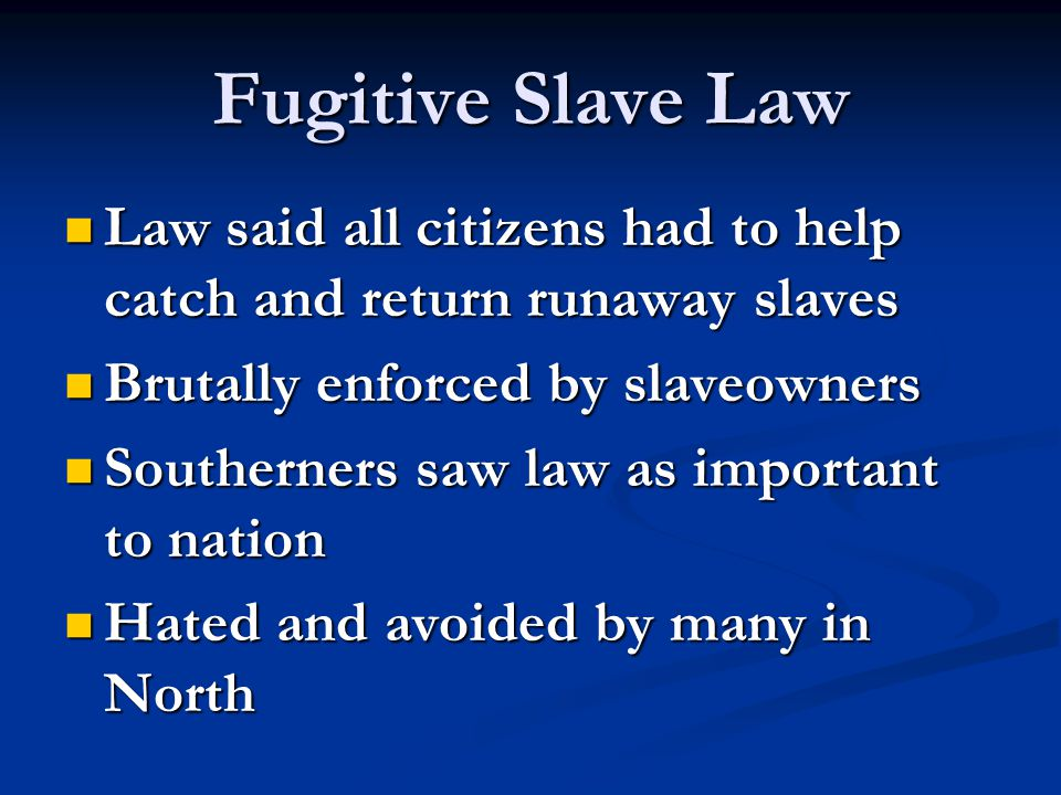 Election of 1860 Republicans called for limiting spread of slavery; NOT ending it.