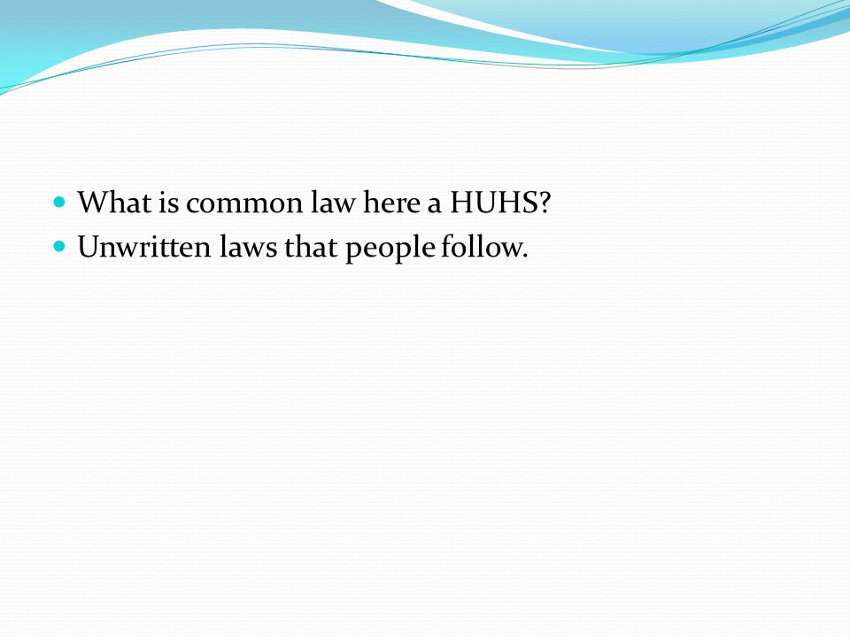 Civil Law Description Laws that deal with conflicts between individuals Examples Family Law, libel, slander, property
