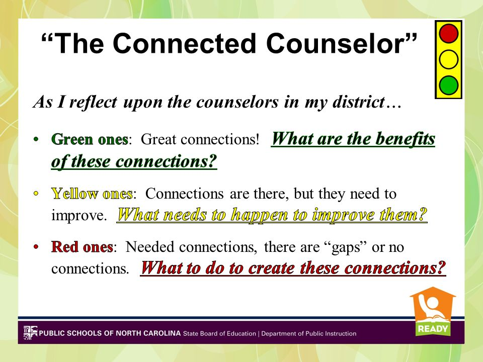 """""""The Connected Counselor"""""""
