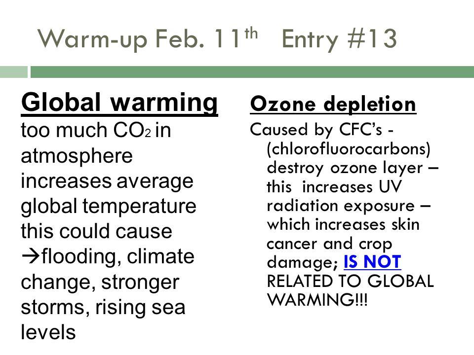 Warm-up Feb.