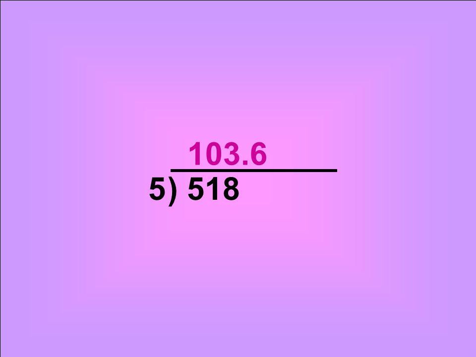 ) 5185 103.6