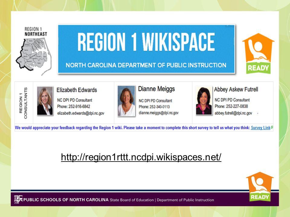 http://region1rttt.ncdpi.wikispaces.net/