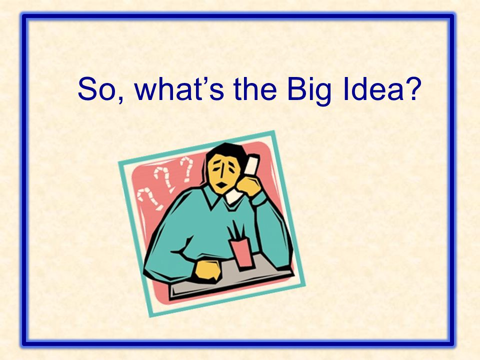 BIG IDEA 1 Develop quick recall of multiplication facts and related division facts and fluency with whole number multiplication.