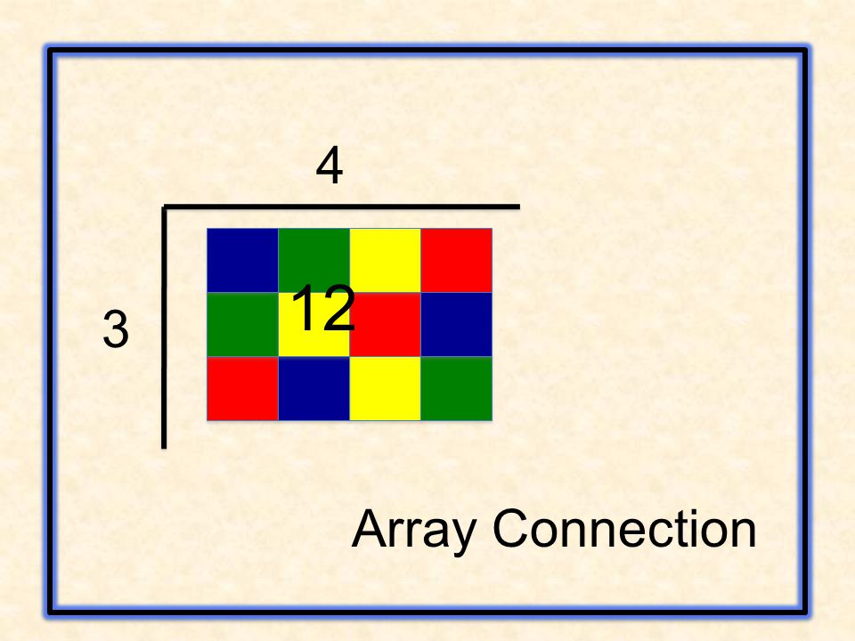 3 4 12 Array Connection