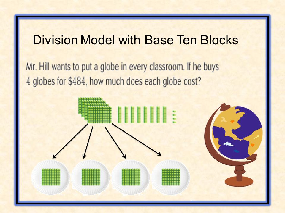 Division Model with Base Ten Blocks