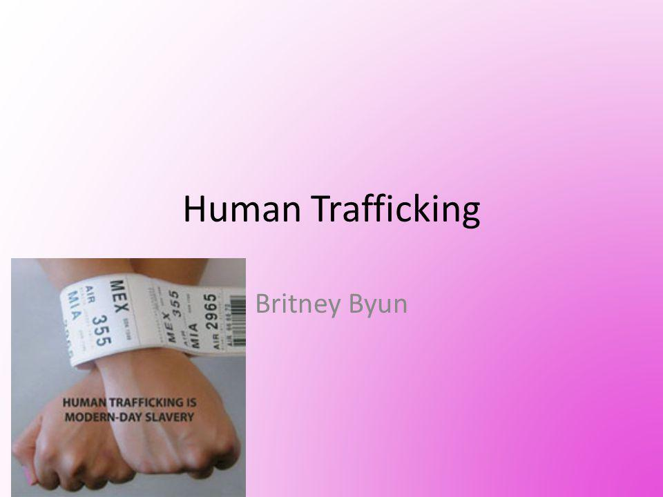 INFO About 15,000~18,000, mostly women and children are trafficked to the U.S.