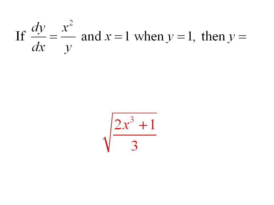 At each point (x, y) on a certain curve, the slope of the curve is 4xy.