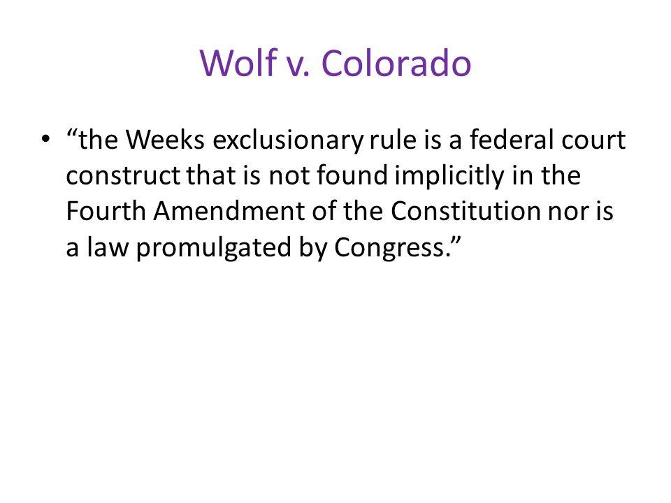 Wolf v.
