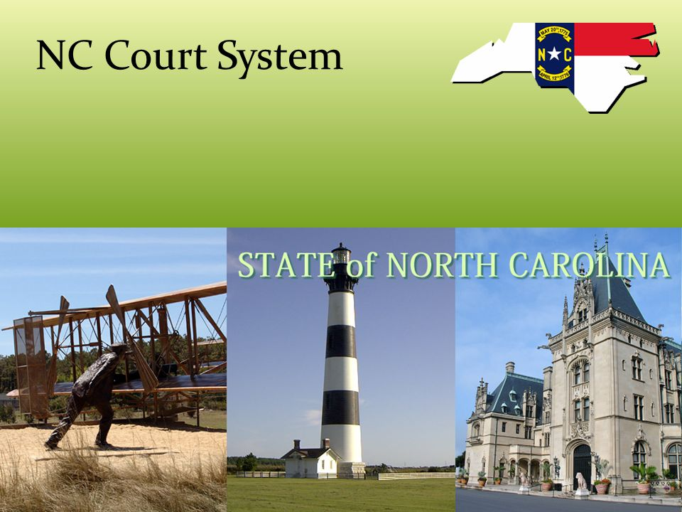NC Trial Courts Trial Courts- hear evidence and arguments of the parties in a case District Courts – the judge hears the case and decides the verdict- there is no jury – ex: family law, traffic violations, mental hospitalization – civil cases less than $10,000