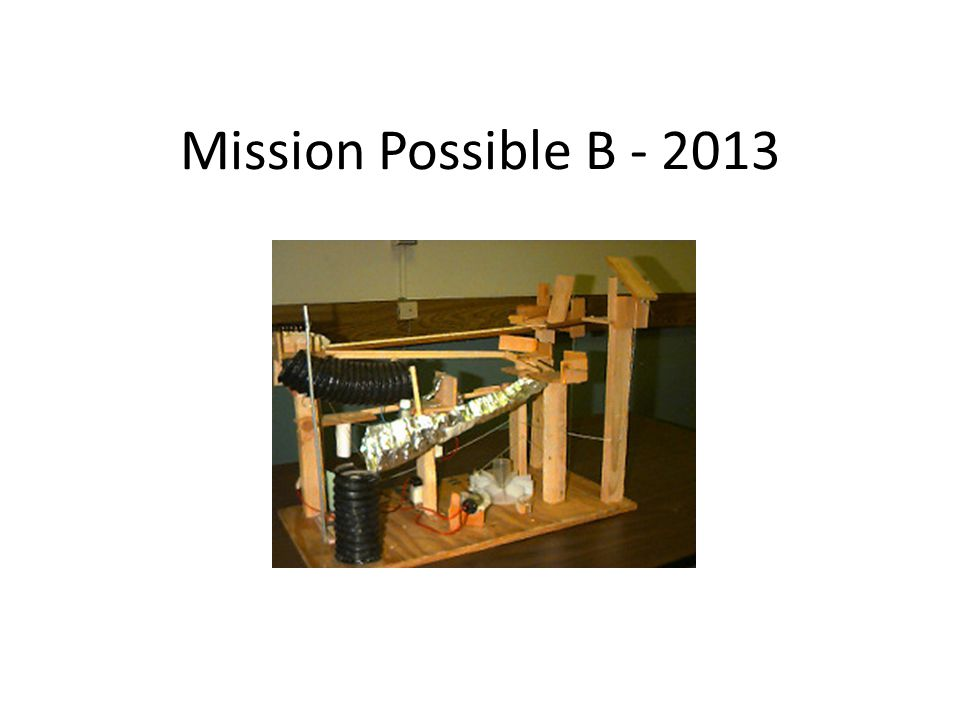 Mission Possible B - 2013