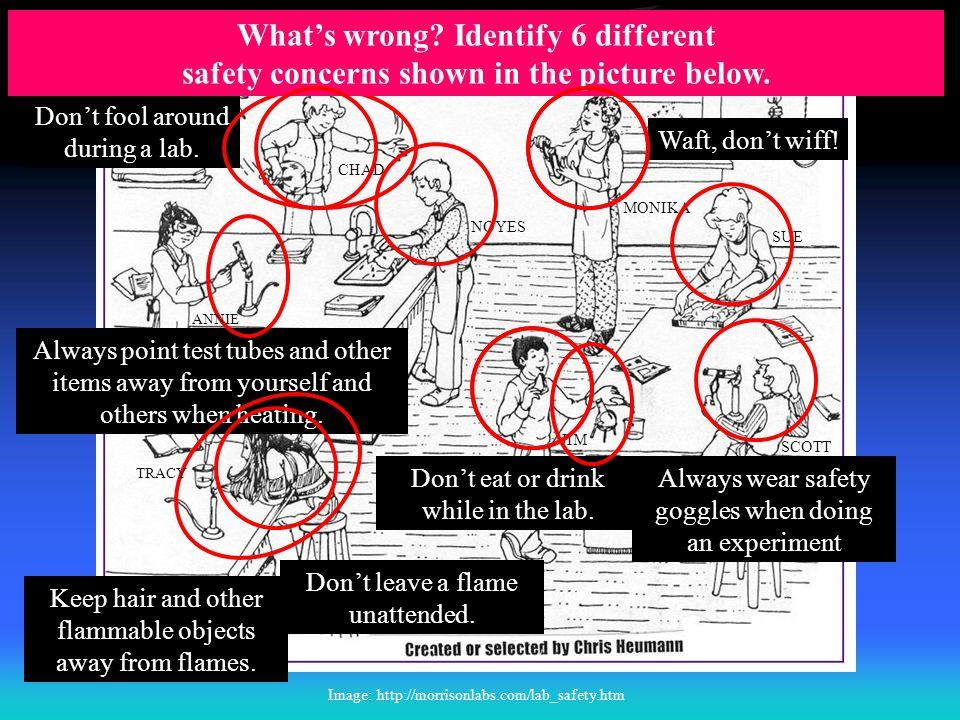 Lab Safety Challenge #1 T. Trimpe 2008 http://sciencespot.net/