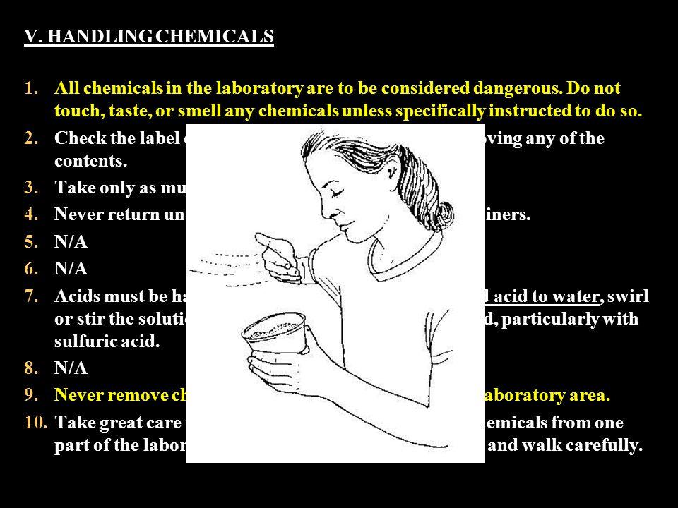 True / False Lab Safety Questions… 1.