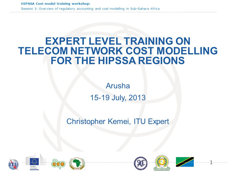 HIPSSA Cost model training workshop: Session 3: Overview of regulatory accounting and cost modelling in Sub-Sahara Africa 22 Data collection process  The best practice consisting in collecting data on an annual basis is implemented in more than half of the countries having addressed this issue (out of 15 countries).
