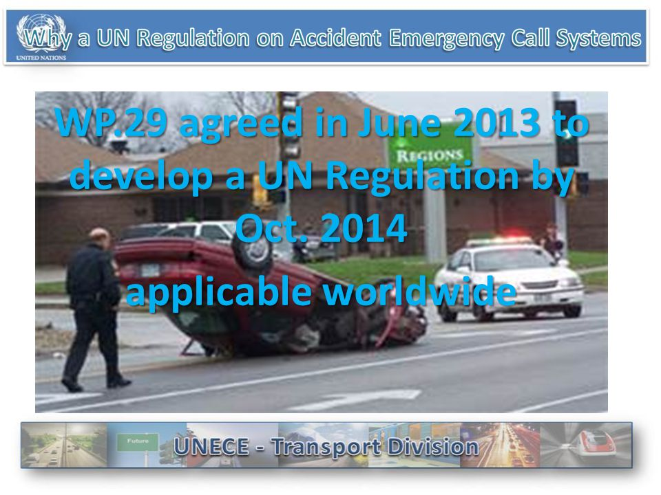 Save up to 2500 lives a year, speed up emergency response times by 40% in urban areas and 50% in the countryside (EU) Voluntary approach would not lea
