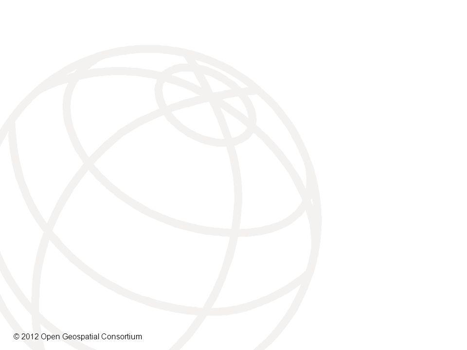 © 2012 Open Geospatial Consortium