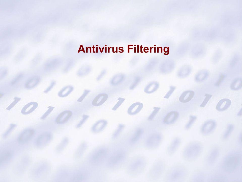 Antivirus Filtering