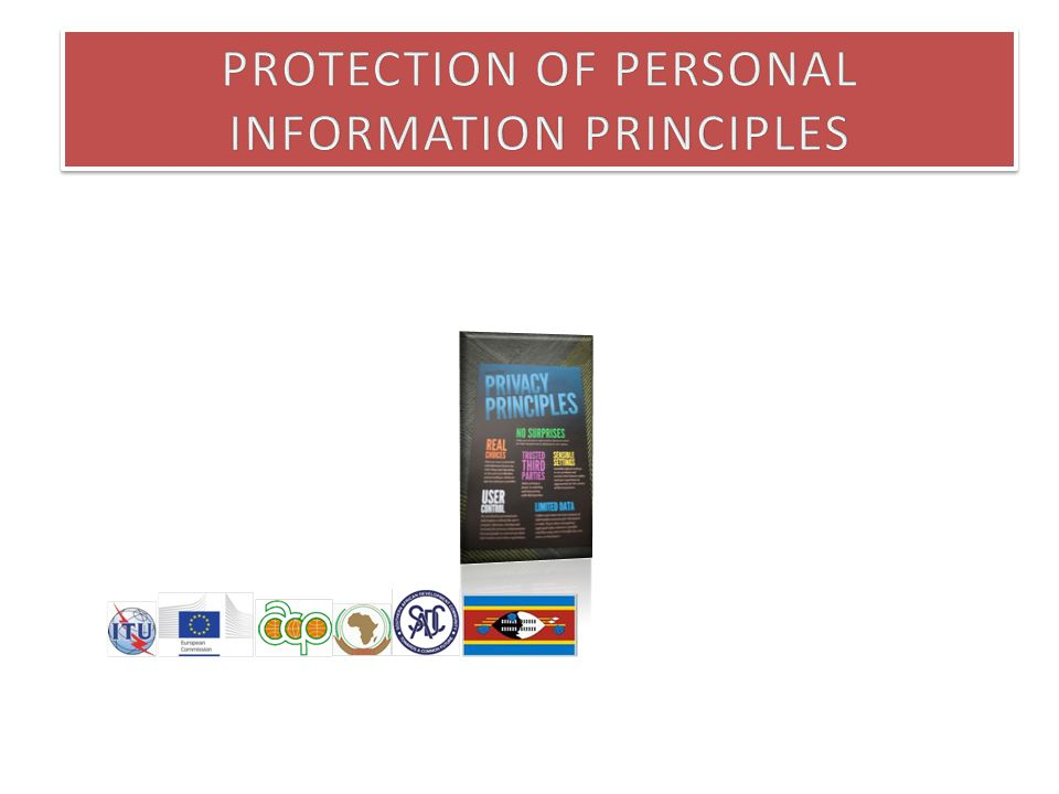 Principles A number of principles involved in data protection will be discussed and illustrated through case studies.