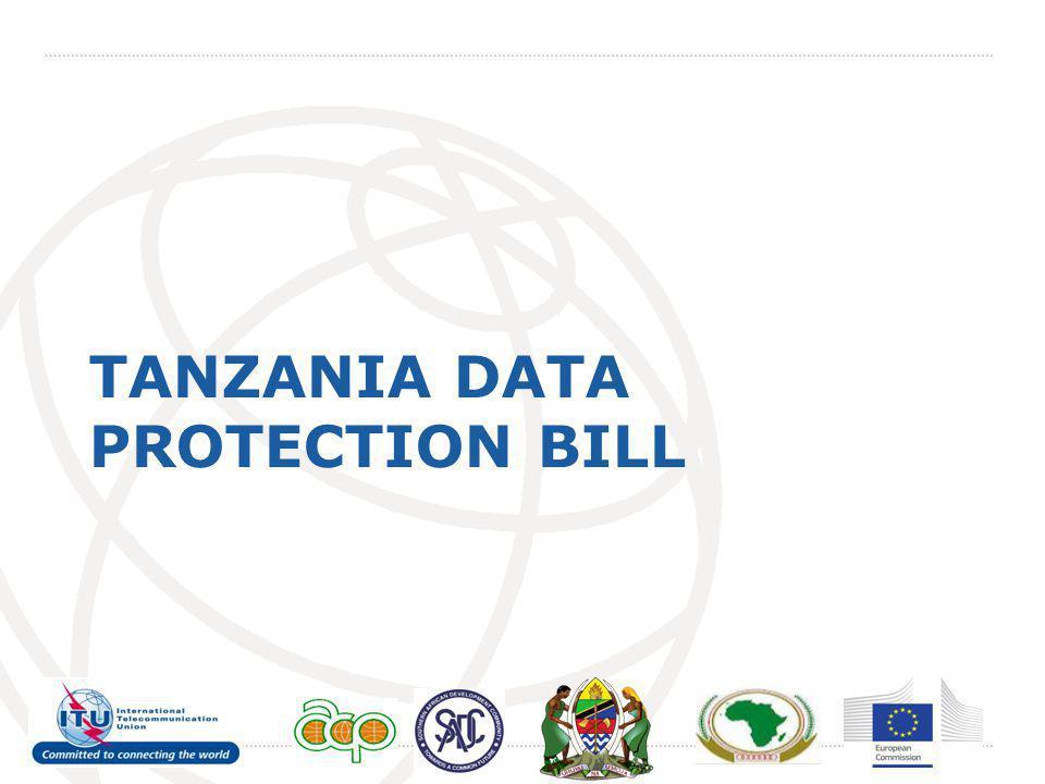 TANZANIA DATA PROTECTION BILL