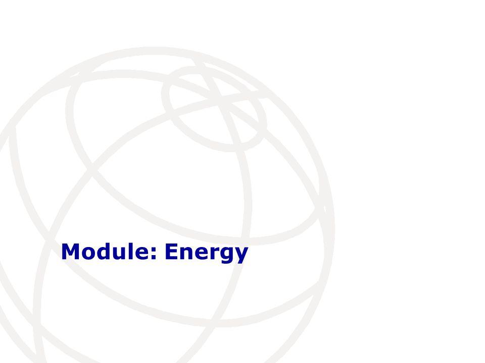 Module: Energy