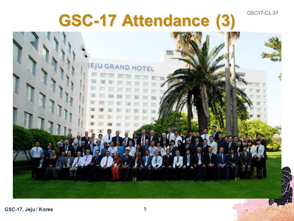 GSC17-CL-37 GSC-17, Jeju / Korea 6 http://www.tta.or.kr/English/new/external_relations/g sc17_document.jsphttp://www.tta.or.kr/English/new/external_relations/g sc17_document.jsp Meeting Documents