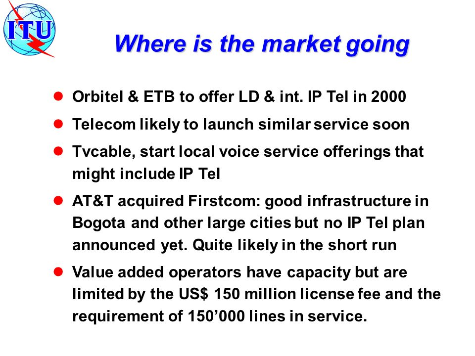 Orbitel & ETB to offer LD & int.