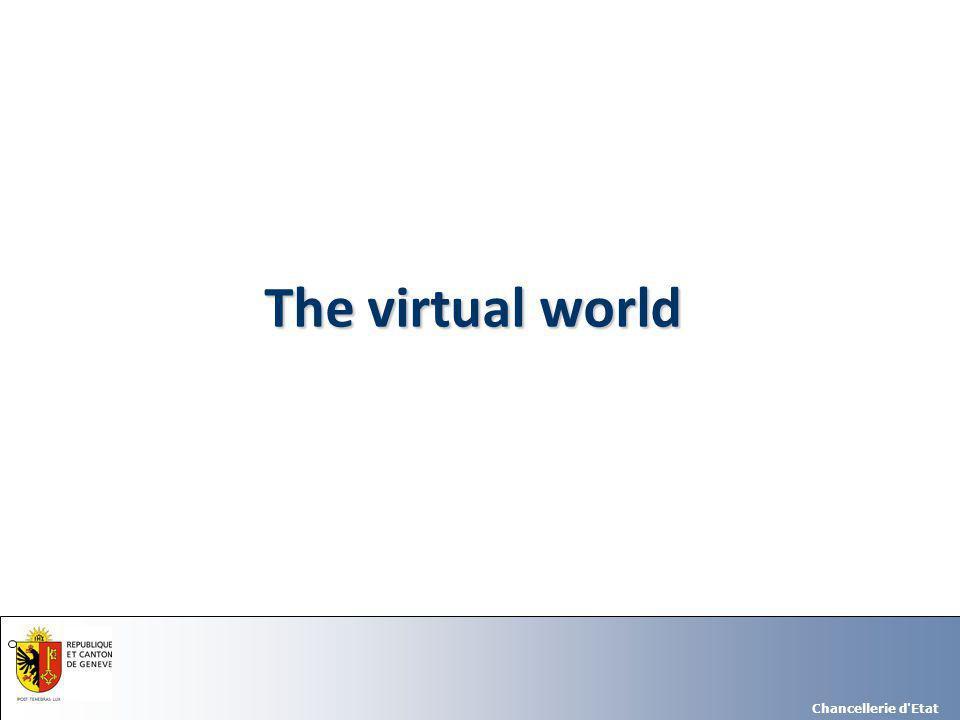 Chancellerie d Etat The virtual world