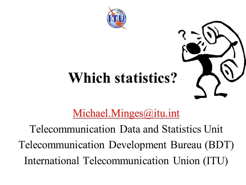 Which statistics.