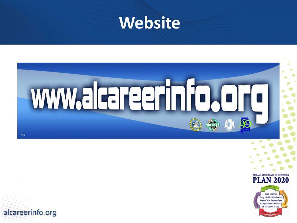 alcareerinfo.org Website