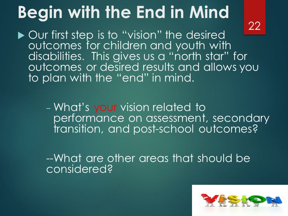 Our Vision  Every Child a Graduate—Every Graduate Prepared  for College/Work/Adulthood in the 21 st Century.