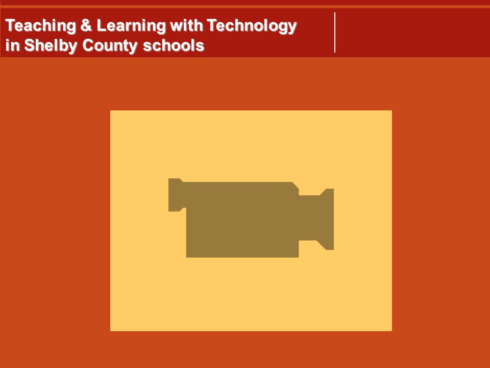 Teaching & Learning with Technology in Shelby County schools