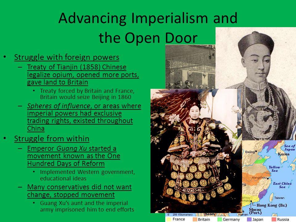 Open Door Policy Qing Dynasty continues to weaken – Britain and U.S.