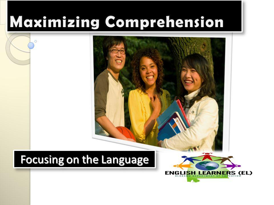 Focusing on the Language