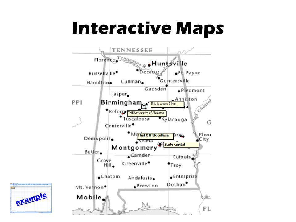 Interactive Maps example
