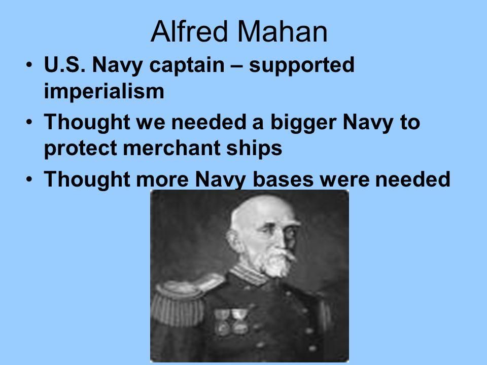 Alfred Mahan U.S.